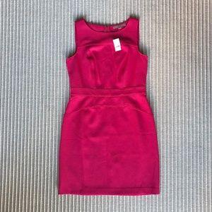 LOFT Sleeveless Pink Sheath Dress - Size 6